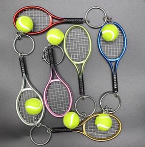 Mini raquete de tênis chave fivela os fãs de Tênis chave da cadeia de Moda de Bolsa de Pingente festa pequenos presentes T9I00292