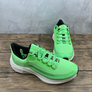 Limited Edition Zoom Winflo 6 Shield Designer Running Shoes Fluoresence Green Black Fashion Sport Sneakers Good Quality