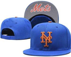 2020 Atacado ajustáveis Mets Snapback YM Outdoor Verão Men Basketball Caps Sun viseiras baratos Mulheres Casquette Cap 18