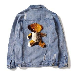 Hombres DUYOU Denim chaqueta Nueva Primavera dril de algodón chaquetas de los hombres casual marca de ropa masculina Delgado jeans de moda de vestir exteriores más el tamaño de Coats