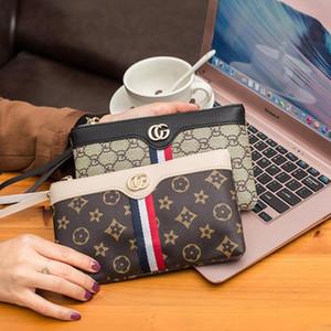 2019 새로운 여성의 지갑 유럽 미국 스타일의 휴대 전화 가방 패션 지퍼 가방 간단한 야생 여성의 지갑 핸드백 지갑