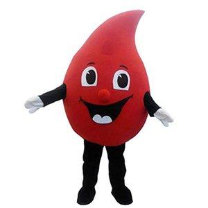 بيع حار بيع جديد خاص مخصص قطرة حمراء من الدم التميمة حلي الكرتون تنكرية