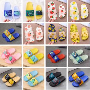 flip flop diseñador para las mujeres de los hombres de PVC zapatillas de interior Baño Azul Amarillo Rojo niños sandalias contra deslizamiento zapatos cómodos
