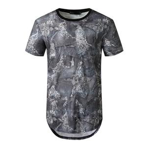 Chic Summer Mens Tshirts Мода Щитовые Цвет Tshirts шеи экипажа с коротким рукавом Повседневная тройники мужская одежда