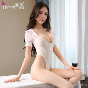 2019 étudiant populaire de femmes de lingerie transparente ouverte uniforme pyjama corps serrés costume fabricant vente directe d'une nouvelle tarte