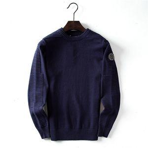 El diseñador de moda para hombre de suéter-Canadá Casual Marca de lana estilo de la camisa de la blusa de negocios sólido suéter del invierno para los hombres