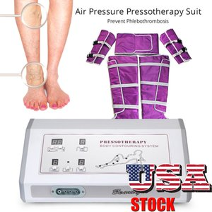 US Stock Mutifunctional Cellulite Removal Suit With Air Slimming Lymph Drainage Blanket Sauna Beauty SPA Body Detox Machine