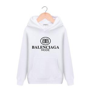 19SS Marka Bayan erkekler Hoodie Tasarımcılar Kazak 3XL Ceket Lüks kız Paris Streetwear kapüşonlu 3D Baskı Kazak Giyim kapüşon kapüşonlu