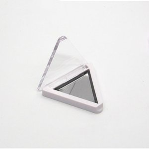 triângulo vazio caso Eyeshadow Magnetic com aço inoxidável Pans Maquiagem Paleta de Sombra com ímã 100pcs