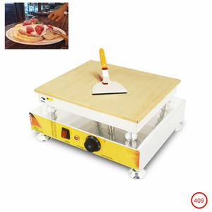 controllo della temperatura meccanico 110v 220v elettrico souffler creatore della cialda macchina commerciale Pancake cialda Souffle macchina