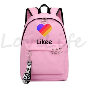 Likee Luminous backpack Mochila Boys Girls School Backpack Children BookBag Travel Black Pink Kids Travel Bag Likee