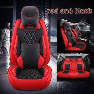 Cuscino per sedile in pelle per auto universale per Honda Accord Fit CRV XRV CRIDER CRIDER FIT MATER SEDAN SUV Full Set Protection Seat Seat Cover