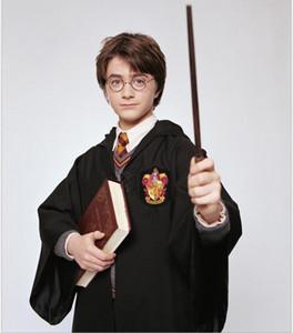 Frete grátis Harry Potter Cosplay Hogwarts Robe capa que a Tie Grifinória Sonserina Hufflepuff Ravenclaw 4 Tamanho capa mágica