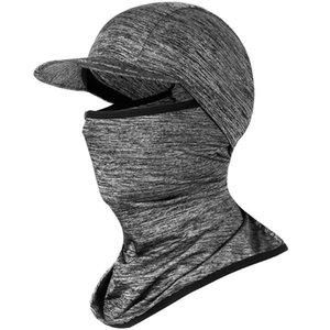 Ice Tecido Ciclismo bicicleta Cap Headwear Anti-UV Sunshade equitação chapelaria da bicicleta Bandana Máscara Facial Sports Hat Scarf