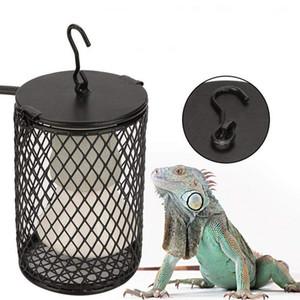 Reptile Anti Scald Abat Support en céramique Chauffage lampe pour animaux reptile amphibien serpent lézard tortue Facile à installer
