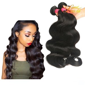 L High Quality Brazilian Body Wave Virgin Human Hair Extension 8 &Quot ;-26 &Quot ;Can Be Mixed Length Natural Color Dyable Brazilian B