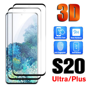 3D Curved Full Glue Tempered Glass For Samsung Galaxy S10 Plus S 9 Full Cover Curved Edge Film Case For Galaxy S8 Note 8 Note 9 S20 Utra 10