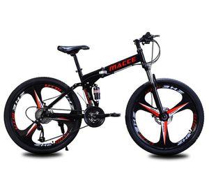 Gros usine de vélos Maixi vente directe montagne vélo pliable à double vitesse 26 pouces absorption de choc d'une génération