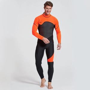 Neopreno de 3 mm de una sola pieza detrás de buceo cremallera traje de invierno traje de buceo al aire libre caliente de espesor de natación buceo