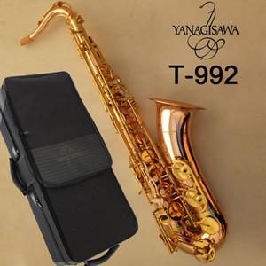 YANAGISAWA T-992 T-WO20 model Tenor Saxophone Bb Phosphor bronze copper Tenor Sax Professional Woodwind instrumen With mouthpiece & bag