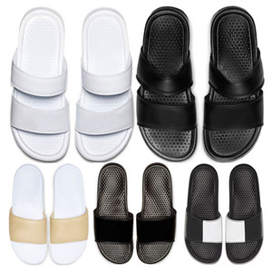 Zapatillas de moda diseñador de Hotsale 2020 Classics Benassi JDI Duo Ultra Slide hombre para mujer de verano flip flop sandalias de playa tamaño de los deportes 36-45
