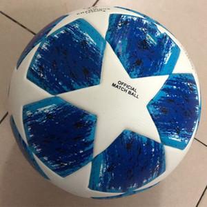 2018 전문 경기 축구 공식 크기 4 크기 5 축구 공 PU 프리미어 축구 스포츠 훈련 공 Voetbal Futbol Bola