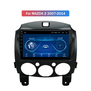 Araba Radyo GPS Multimedya Oynatıcı İçin MAZDA 2 2007-2014 Android 10 Kafa Birimi Destek WIFI, Bluetooth