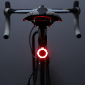 Bisiklet Stop lambaları MTB Işıklar Gece Binme Yol Bisikleti Binme Yaratıcı Su geçirmez Stop lambaları Bisiklet Işık Yeni Şarj USB