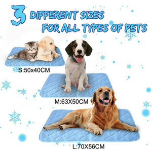 Quatro temporada Universal Pet Mat Dog Cat Summer Mats Refrigeração Bed Puppy Pad Pet Dog Waterproof Plush Sleeping Nest