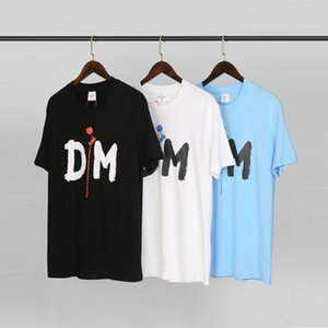 hot selling no high street ah DM Singles print te t-shirt Men Summer Casual Street Skateboard T-shirt