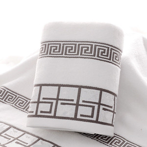3pcs de haute qualité / Serviette de bain en coton ensemble Jogo de TOALHAS de banho 1pc serviette de bain serviettes de toilette 2pcs marque
