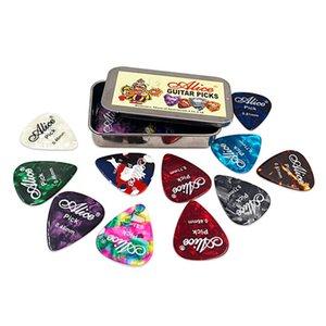 12 20 24pcs Guitar Picks Set Round Metal Picks Box Case Picks Plectrums Acoustic Electric Guitar Pick For Strings Accessories