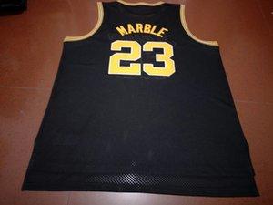Seltene kundenspezifische Männer Jugendfrauen # 23 Roy Marmor Iowa Hawkyes College Basketball Jersey Größe S-6XL oder benutzerdefinierte ja name oder nummer jersey