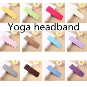 High quality Excellent multi-color optional Yoga hair band Sports elastic band Riding hair band Anti-shedding headband