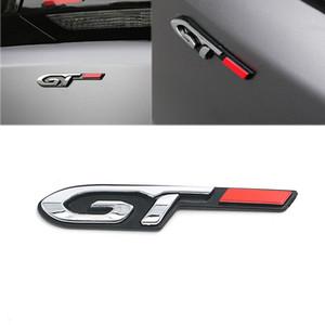 لبيجو سيتروين هيونداي سيارة GT رسالة شارة شعار ملصق لبيجو 5008 4008 3008GT 2008 508 408 308 208 406
