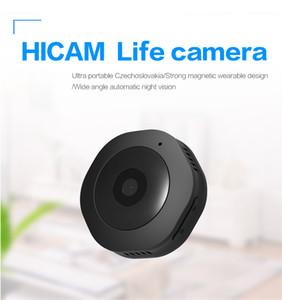 미니 H6 와이파이 카메라, 홈 보안 방수 적외선 나이트 비전 네트워크 지능형 모니터링과 HD 1080P 마이크로 비디오 카메라