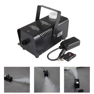 AUCD MINI 400W Fumo Branco Controle Remoto Fumo Fumo Máquina Fase Luz Efeito W400