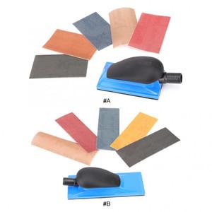 Aspiratori Sanding Sponge Block Block rettifica manuale Dust Free con gancio e Loop Abrasivi Utensili Accessori