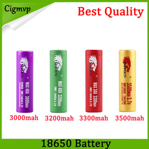 Высокое качество IMR 18650 батарея 3000 мАч 3200 мАч 3300 мАч 3500 мАч 40A леопардовым принтом MAX50A 50A 2600 мАч аккумуляторная батарея FEDEX UPS доставка