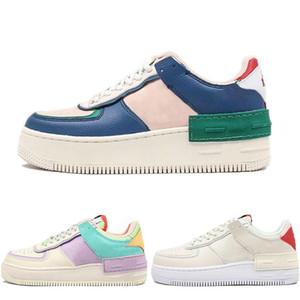 nike air force 1 Scarpe da corsa uovo di Pasqua skate colorato Bianco Rosa Blu Moda scarpe da ginnastica formato casuale 36-40