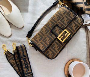 La bolsa de asas de lujo diseñador de bolsos bolsa nueva FF-bolso de la alta calidad del bolso de hombro crossbody con la caja