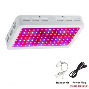 DHL 300W 600W 800W 1000W 1200W 1500W 1800W 2000W Doppel Chip LED wachsen Licht Full Spectrum Rot / Blau / UV / IR für Zimmerpflanzen