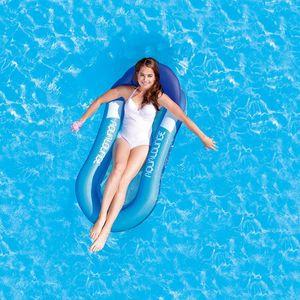 Открытый воды Гамак Одинокие люди Надувной пляж Лежак Спинка Recliner Floating спальная кровать Бассейн Кресло Подушка