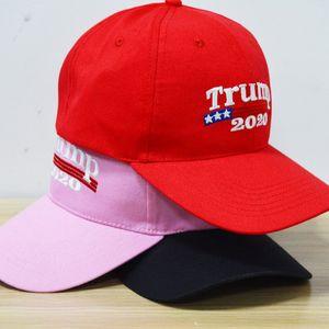 Bordado Trump 2020 Fazer América Grande Novamente Donald Trump Bonés de Beisebol Chapéus Bonés de Beisebol Adultos Chapéu Esportes Frete Grátis