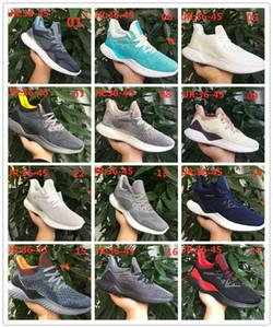 2020 AlphaBounce İçgüdü CC M tasarımcı koşu ayakkabıları Erkek şerit stereoskopik Bouncetm orta taban Sports eğitmenleri Erkekler Kadınlar Sneakers 36-45