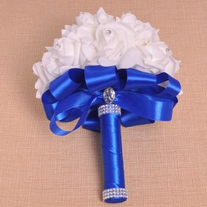 Free shipping New cheerleading Pom Poms Pinch angle PE foam bouquet bride holding flower style