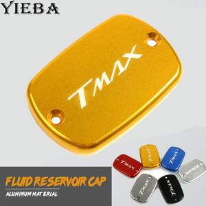 CNC Motor Bike Brake Fluid Reservoir Tank Cap Cover For Tmax 500 2008-2011 tmax 530 2012-2016 Aluminum 6 Colors Available