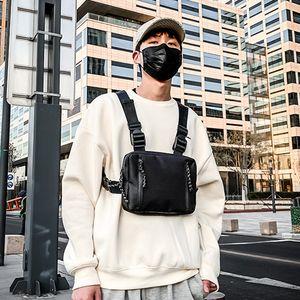 Men Hip-Hop Chest Bag Ladies Street Chest Bag Industrial Trend Cool Men and Women Vest