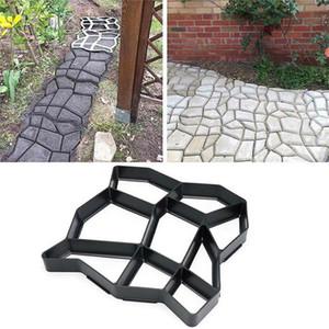 New DIY Plastic Maker Mold Paving Cement Brick Molds Stone Floor Road Concrete Molds Pavement For Garden Home Patio Maker