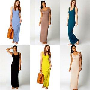 Women Floral Dress 2020 Beach Spaghetti Strap Casual Loose Long Dresses New 19Ss Summer #609